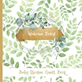 Guest Book: Gorgeous Greenery Themed Baby Shower Guest Book PLUS Gift Tracker Plus Picture Memory Photobooth Section (Greenery Baby Shower Publications)