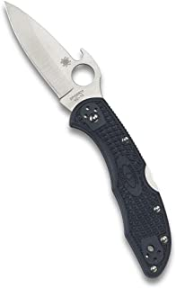 "Spyderco Delica 4 Lightweight 7.15"" Signature Folding Knife with 2.90"".."