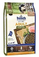 ボッシュ アダルト チキン&キビ 1歳以上 通常活動レベルの成犬用総合栄養食 全犬種用 ハイプレミアム ドッグフード 3kg