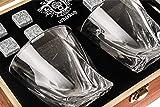 Zoom IMG-1 bicchieri da whiskey ritorti set