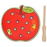 Juego de escritorio, juego de juguete de escritorio de captura de forma de fruta bebé con un palo...