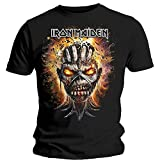Unknown Męska koszulka Iron Maiden Eddie eksplodująca głowę