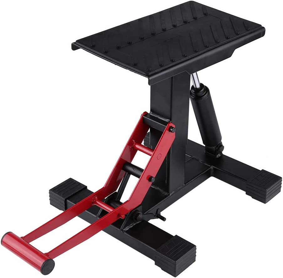 Adjustable Lift Jack Double Arm Repairing Don't miss the campaign Stand Table for A Manufacturer OFFicial shop