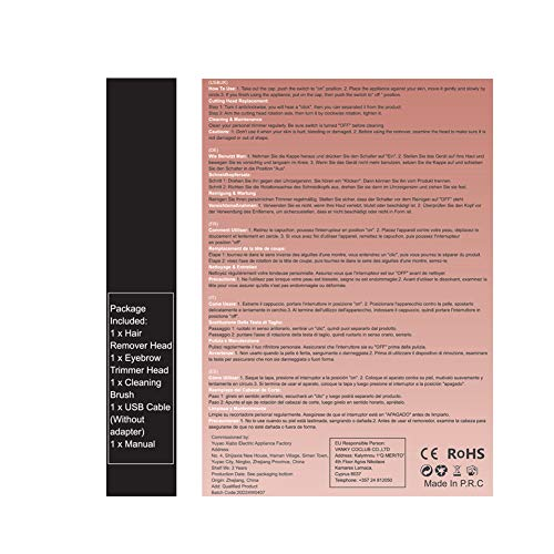 Mroobest Epilateur Sourcil01