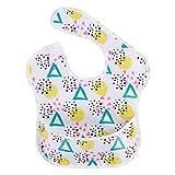 XMYNB Bavaglino neonati 2 Piezas Impermeable Baberos Babetos Poliéster Tpu Recubrimiento Alimentación Baberos Baberos Lavables Bebé Baberos Con El Receptor De Alimentos Para Niñas Y Niños