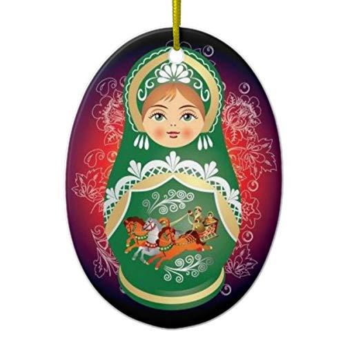 Tamengi Russische Puppe, Weihnachtsdekoration Olga