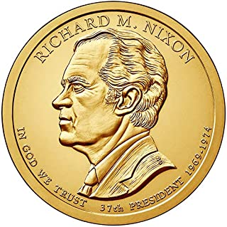 2016 S Proof Richard M. Nixon Presidential Dollar Choice Uncirculated US Mint