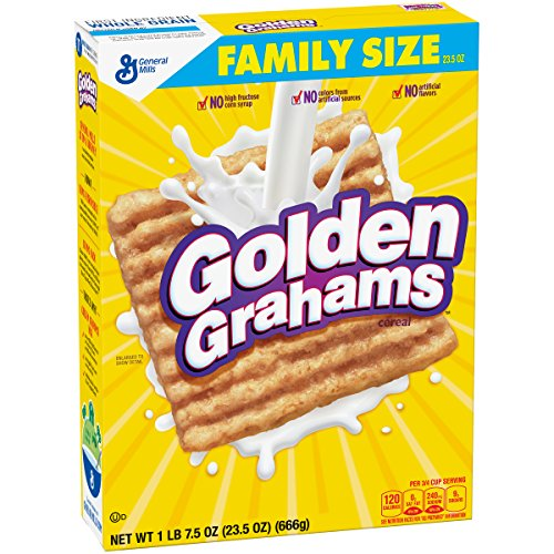Golden Grahams Cereal, 23.5 Ounce (Pack of 12)