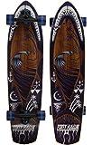 Sakar Tony Hawk 34' Complete Cruiser Skateboard, Shark Mouth Graphic Longboard (ACTBOD-123TH-SHK)