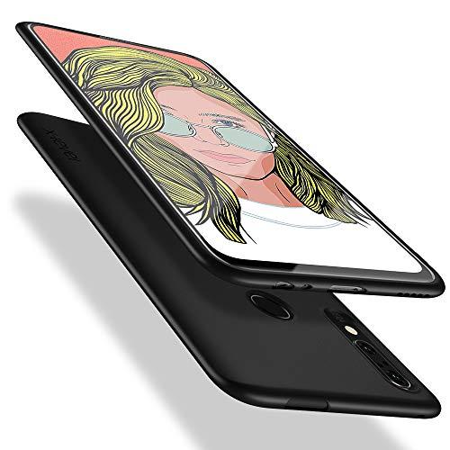X-level Honor 9X Hülle, Huawei P smart Z Hülle, [Guardian Serie] Soft Flex TPU Case Ultradünn Handyhülle Silikon Bumper Cover Schutz Tasche Schale Schutzhülle für Honor 9X/Huawei P smart Z - Schwarz