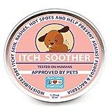 PAWTITAS Baume pour Chien Fait pour l'irritation, la dermatite et Les demangeaisons de Votre Animal Domestique | C'est Un Traitement Anti-Allergique en Crème pour Votre Chien - 52 ML