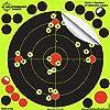 Splatterburst Targets 8インチ スティック&スプラッター 粘着シューティングターゲット 25個パック