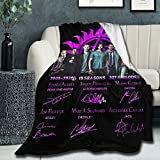 Super Soft Light Weight Throw Blanket Supernatural 15 Years Tv Show Memory Gift Summer Quilt for Bed Couch Sofa 60'X50' Twin for Teen