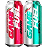 Mountain Dew Game Fuel Zero, Variety Pack, 16 Oz Cans (12 Pack) (Packaging May Vary), Assorted