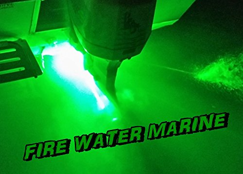 Super Delux 10-Watt Garboard Brass Boat Plug Light by Firewatermarine