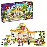 LEGO Friends Il Caffè Biologico di Heartlake, Set Educativo con 3 Mini Bamboline, Giocattoli per Bambini di 6+ Anni, 41444