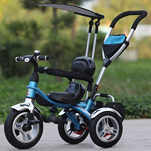 Amazing Deal Children's Tricycle Stroller 1-6 Baby Three-Wheeled self-propelled Baby Stroller with A...