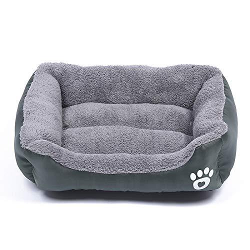 J Lettino per Cani Morbido e Confortevole Misura 3XL (120x82 cm) sfoderabile e Lavabile