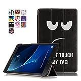 Pestaña A6Funda, Cover para Samsung Galaxy Tab A 7.0, Ultra Slim PU Cuero Flio Carcasa para Funda Soporte para Samsung Galaxy Tab de 7.0Pulgadas (sm-t280/sm-t285) Tablet 2016liberación