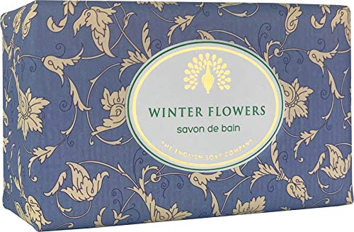 The English Soap Company, Vintage Wrapped Shea Butter Soap, Winter Flowers, 200g