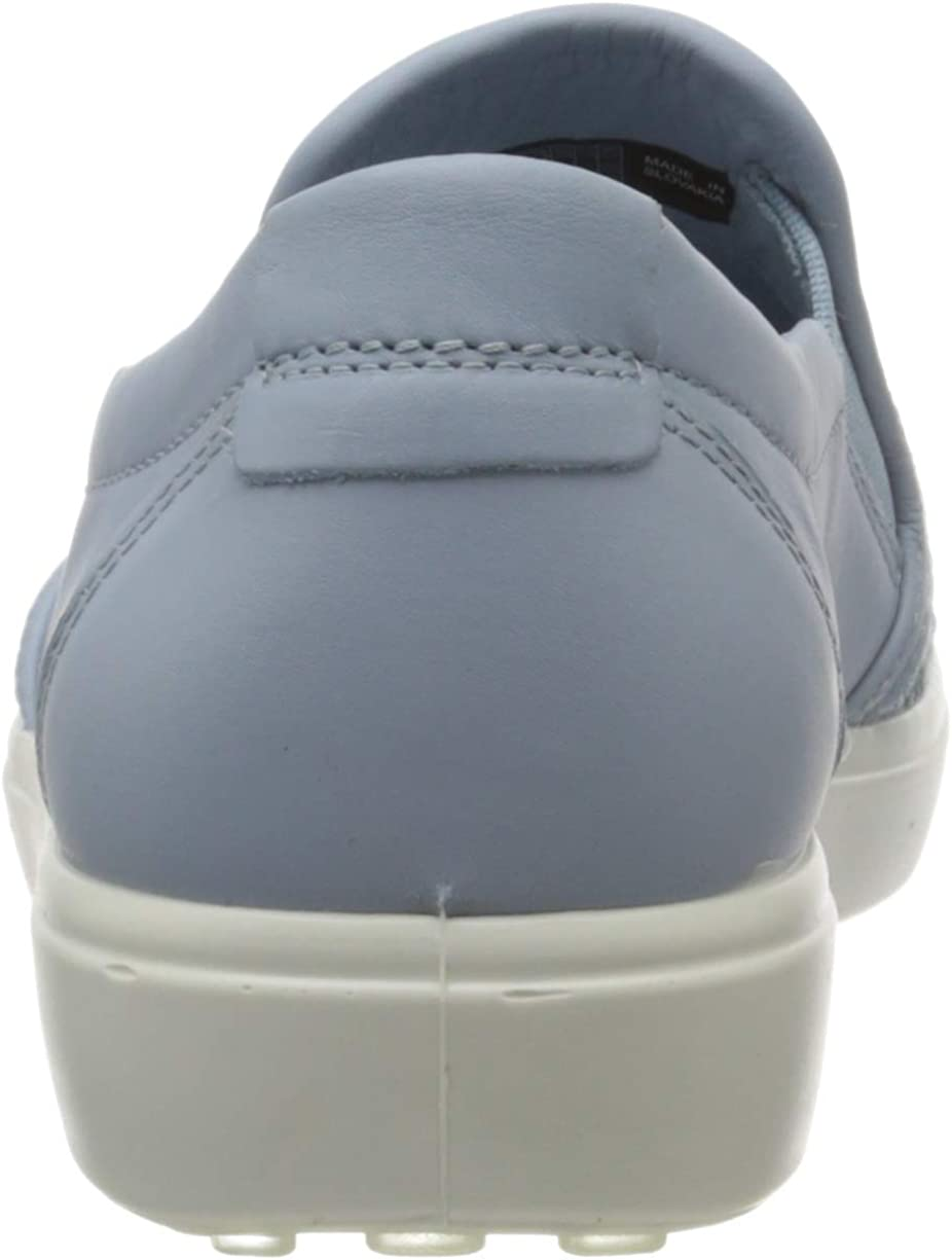 ECCO Women's Soft7w Sneaker Blue Dusty Blue 1434 au5v2Q