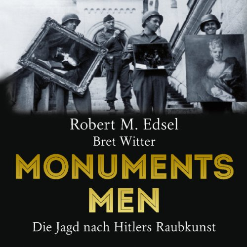 Monuments Men audiobook cover art