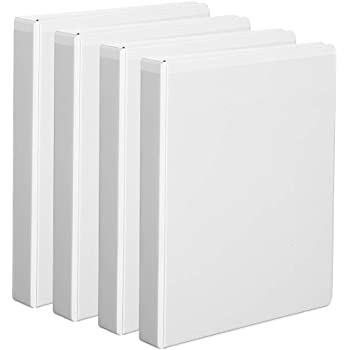 Holds 375 Sheets Green 4 Pack 29300 Black Cardinal 1.5 Inch 3 Ring Binder Red Blue Assorted D Ring - 2PACK