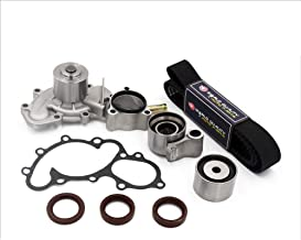 Timing Belt Water Pump Kit fits for 1995 1996 1997 1998 1999 2000 2001 2002 2003 2004 Toyota Tacoma, 2000-2004 Tundra, 1996-2002 4Runner, 1995-1998 T100 3.5L V6 24V DOHC 5VZFE