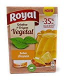 Royal Gelatina Piña - Origen Vegetal - 35 % menos de azúcar - 2 x 55g