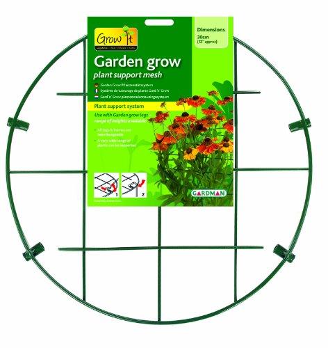Gardman Gard 'n' Grow Système de tuteurage de plante 30 cm bigarré