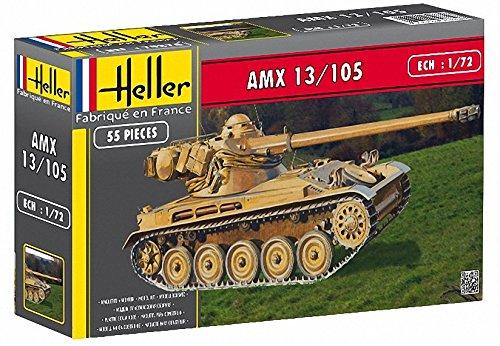 Heller 79874 - Modellino da Costruire, Carrarmato AMX 13/105 2000-5 [Importato da Francia]