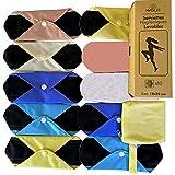 Serviettes Hygiéniques Lavables | lot de 10 Protège slips Menstruels Réutilisables pour flux moyen et petit | PME familiale