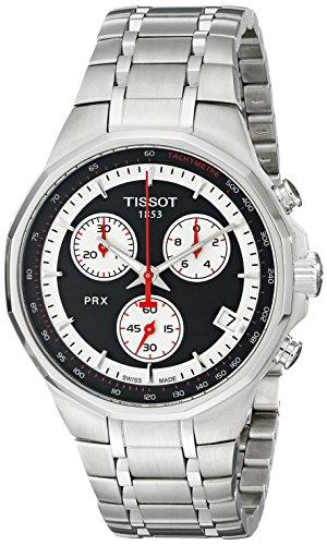 Tissot Herren-Armbanduhr XL PRX Chronograph Quarz Edelstahl T077.417.11.051.01