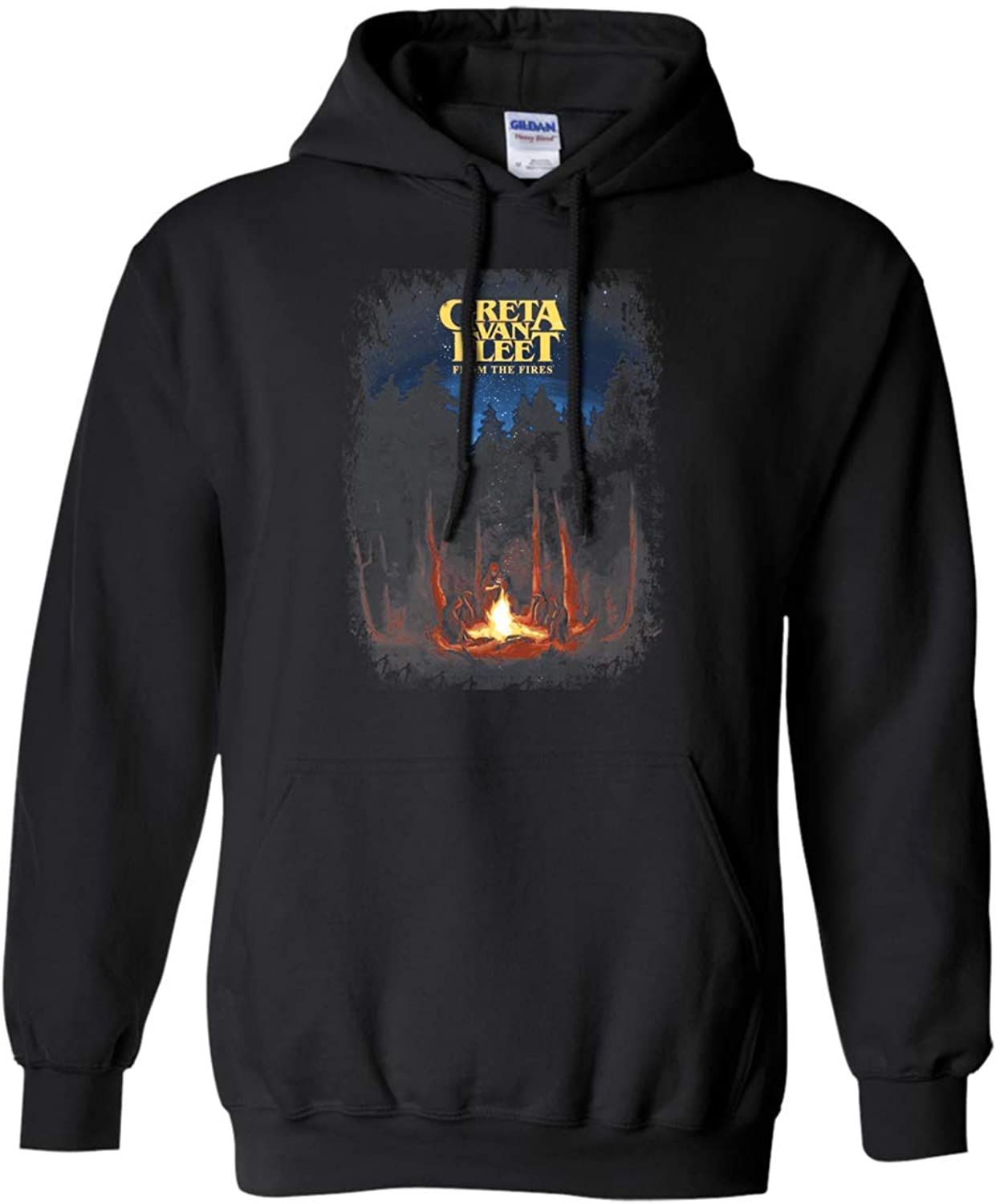 Greta Van Fleet from The Fires Hoodie
