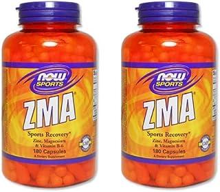 2個セット 【お得サイズ】ZMA(亜鉛&マグネシウム&B6) 180粒 [海外直送品]