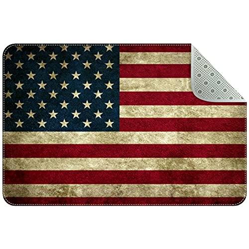 amerikanische Flagge Weiche Teppiche für Mädchenzimmer, süßer Rub Plüsch Shaggy Teppich für Kinder Teen Babyzimmer Kinderzimmer Wohnkultur