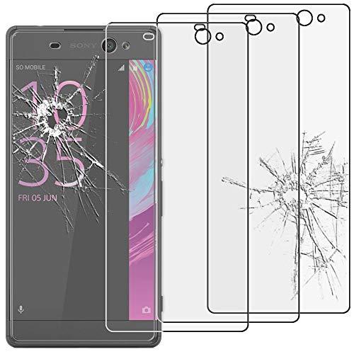 ebestStar - kompatibel mit Sony Xperia XA Ultra Panzerglas x3 XA Ultra/Dual Schutzfolie Glas, Schutzglas Bildschirmschutz, Bildschirmschutzfolie 9H gehärtes Glas [Phone: 164 x 79 x 8.4mm, 6.0'']