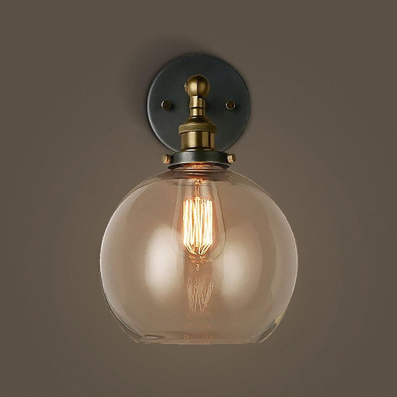 Eisen-Wand beleuchtet Nachtlicht-kreative dekorative Wand-Lampen-Beleuchtung für Schlafzimmer, Wohnzimmer, Korridor-Wand-Bahn, Treppenhaus, Balkon, Garten (Farbe   C)