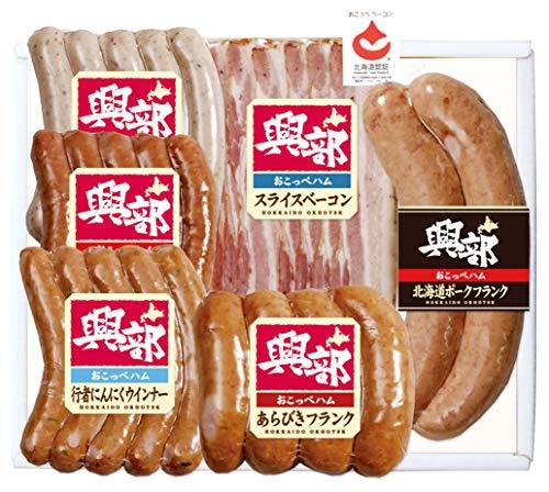 ハムソーセージ詰め合わせ 北海道 おこっぺハム 6種 ソーセージ 詰合せ 北海道 ギフト