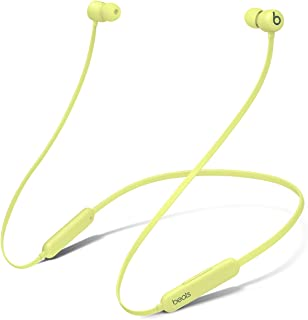 Audífonos in-Ear Beats Flex inalámbricos, Chip W1 para audífonos diseñado por Apple, audífonos magnéticos, tecnología Bluetooth® Class 1, 12 Horas de Audio: Amarillo