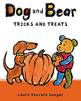 Dog and Bear: Tricks and Treats (Dog and Bear Series) by [Laura Vaccaro Seeger]
