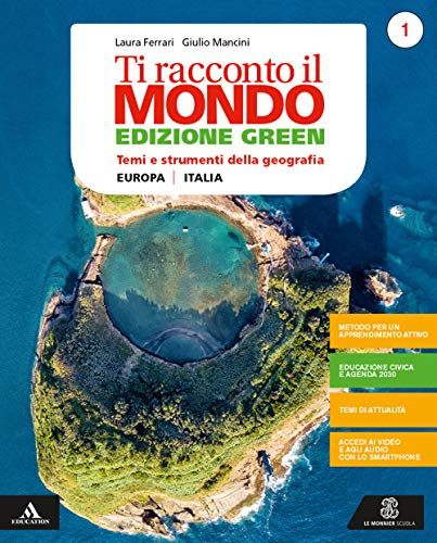 Ti racconto il mondo- Ediz. green. Volume 1 + atlante 1 + regioni 1. Per la Scuola media. Con e-book. Con espansione online (Vol. 1)