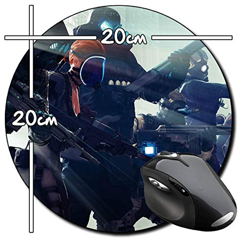 Resident Evil Operation Raccoon City A Rund Mauspad Round Mousepad PC