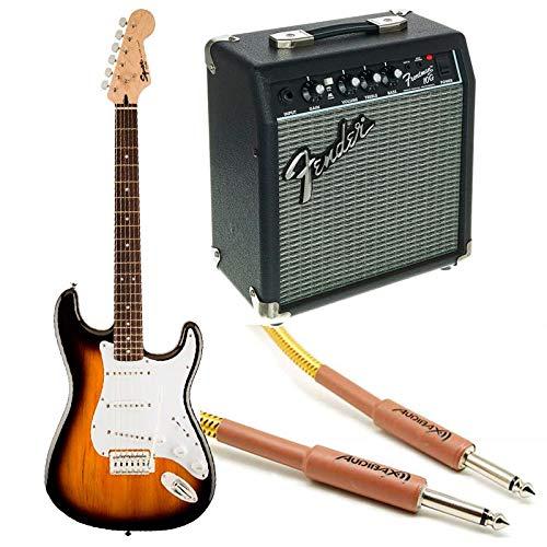 Fender Squier Bullet Stratocaster RW Sunburst + Frontman 10G + Cavo
