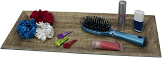 Home Basics Plastic Vanity Tray, Decorative Makeup Holder, Jewelry & Accessory, Home Décor Storage Organization Bathroom, ...