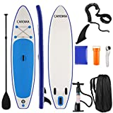 """Caroma Inflatable Stand Up Paddle Board, 10'6"""" inflatable SUP Board for Adults Kid"""