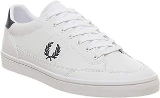 Fred Perry B3119 Fashion Shoes for Men, White, 45 EU