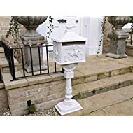 Post Box Victorian Freestanding Aluminium
