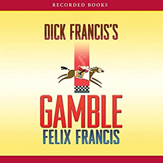 Dick Francis's Gamble audiobook cover art