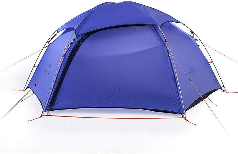 Lxj Outdoor Zelt sechs Cape Vier Jahreszeiten Zelt Regen Feld Outdoor Bergsteigen Doppel Aluminiumstab Camping Zelt 210  275  h105cm